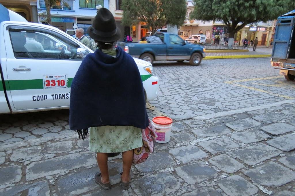 Alausi y el tren de la nariz del diablo (Ecuador)