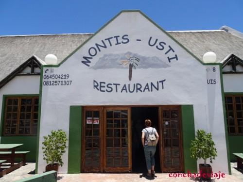 Restaurante Montis Usti