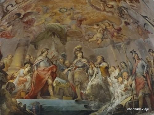fresco bóbeda del transepto