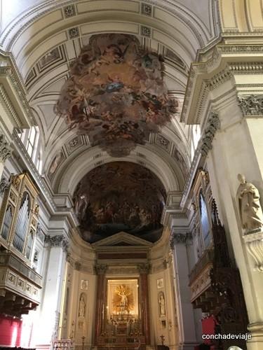 interior catedral de Palermo