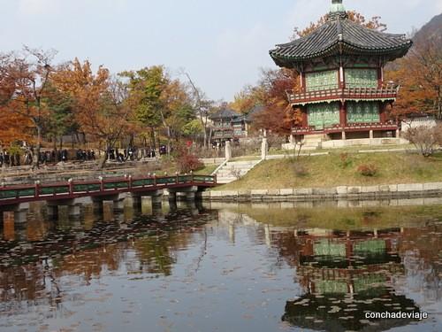 Estanque palacio Gyeongbokgung