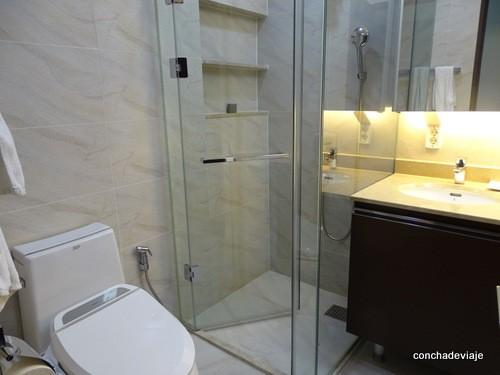Cuarto de baño Fraser Suites