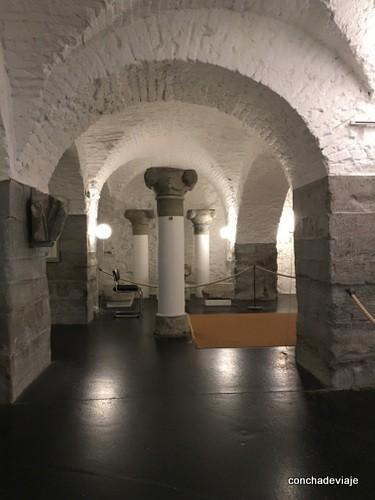 Lapidario biblioteca San Galo