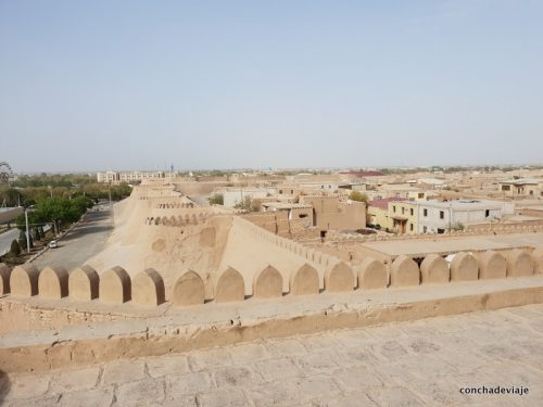que ver en Jiva la ciudad oasis de la gran ruta de la seda