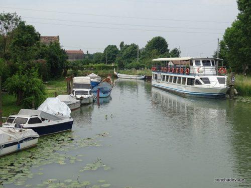 El burchiello, un crucero entre la Villas Vénetas, a orillas del Brenta