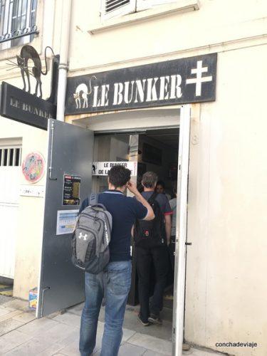 Bunker en el centro de La Rochelle