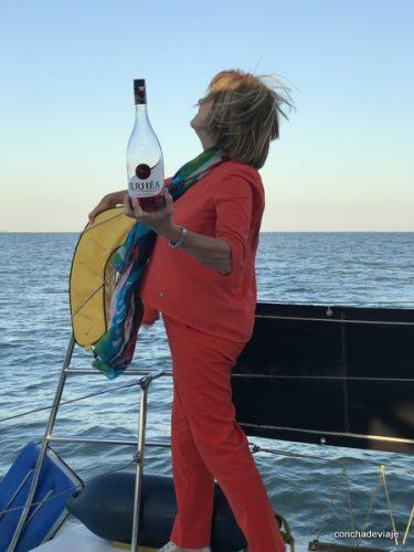 Navegando por los alrededores de La Rochelle