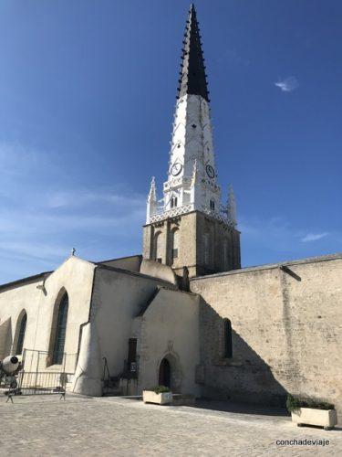 Isla de Ré  iglesia Saint Etienne