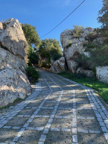 Calzada romana Castellar Viejo