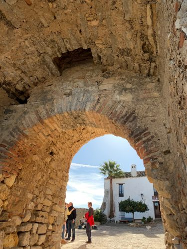 Puerta Castillo Castellar Viejo