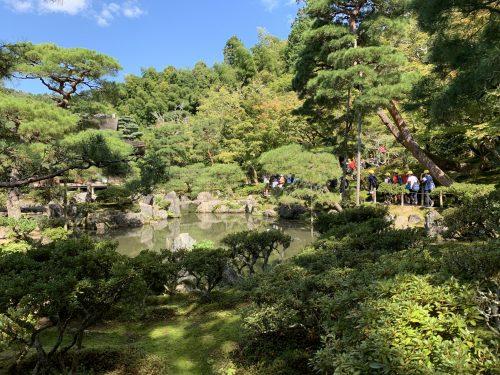 jardines de Gynkaku-ji kioto