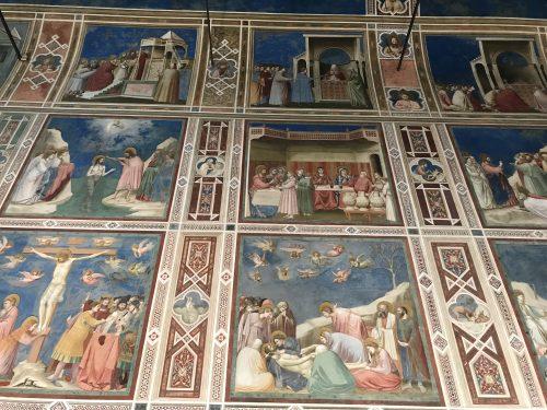 Capilla de los Scrovegni. Padua