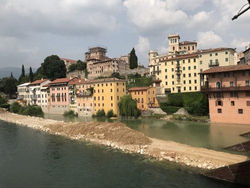 Rio Brenta. Bassano del Grappa