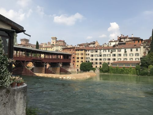 Puente viejo. Bassano del Grappa