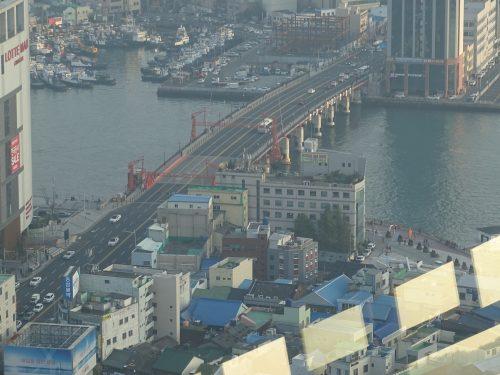 Desde la torre de Busan