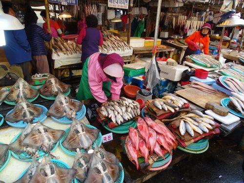 mercado de Jagalchi Busan